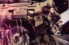 Swank Military Attire