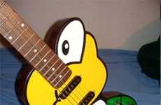 Retro Gamer Guitars - The Koopa Troopa Guitar Will Have You Shredding Like it's 1985
