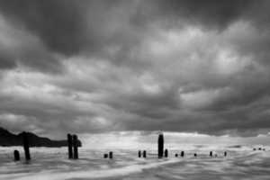 Sandsend by Paul Tupman is a Beautiful Album of Hazy Sand Photography