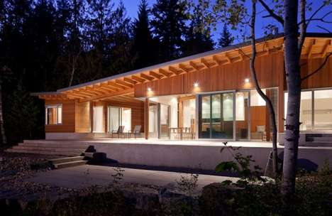 Shuswap Cabin by Splyce Design