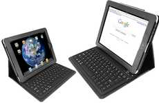 Tablet Keyboard Sleeves - The KeyCase iPad Folio is the Ultimate All-in-One Tech Jacket