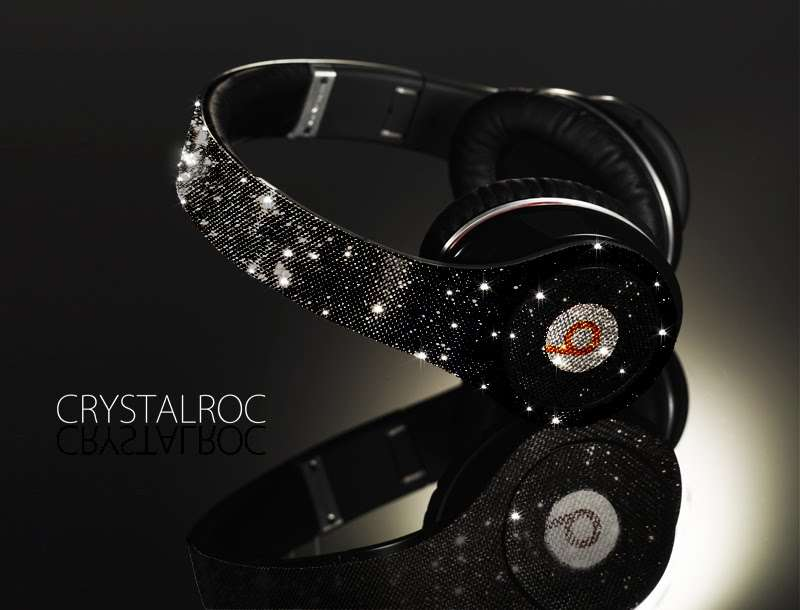 Blinged-Out Headphones