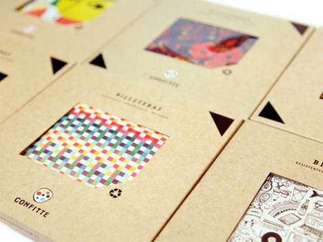 Confitte Billeteras Wallets Packaging