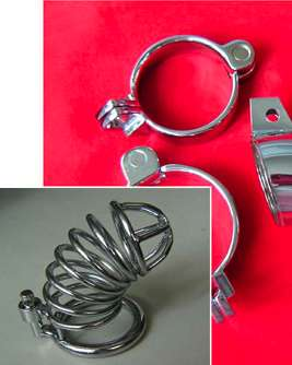 Male metal Chastity Belts