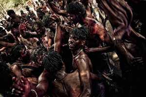 The 'India. Holi Celebration' by Maxim Dianov Shows Hindu Culture