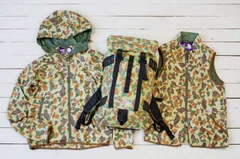 North Face Camouflage Fall/Winter 2010