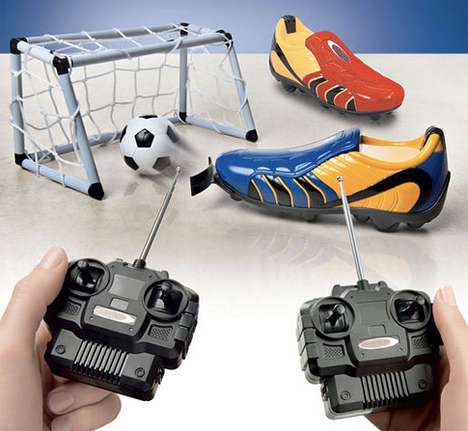 Remote-Controlled Football Boot