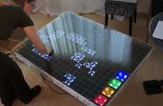 LED Board Games - Evil Mad Scientist Laboratories' 'The Game of Life' is Interactive