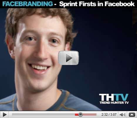 Facebranding - Sprint Firsts in Facebook