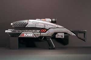 The Mass Effect M8 Replica Looks Ready to Annihilate Aliens