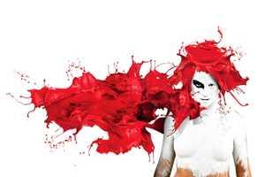 REDsplash from Sebastian Komicz Showcases Blood-Red Manes