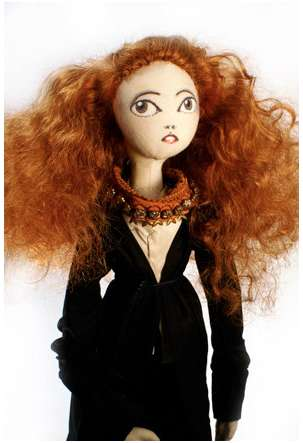 Anna Wintour and Grace Coddington Dolls