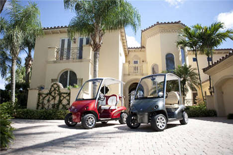 Garia luxury golf cart