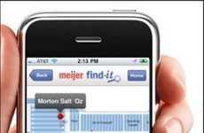 Grocery Store GPS Guides - The Meijer Find-It App Helps You Find the Frozen Food Section