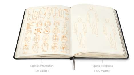 Fashionary Menswear Sketchbook Dictionary