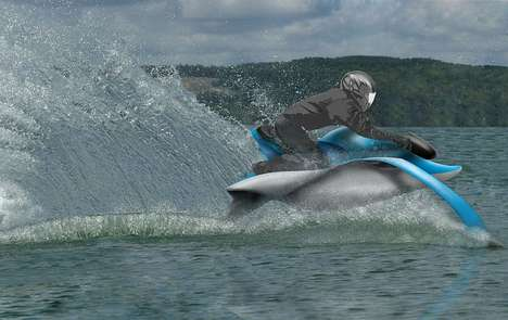 the dolphin hydrofoil