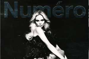 Natasha Poly for Numero #116 September 2010 has a Luxurious Night Out