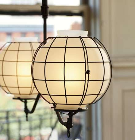 Gas-Style Industrial Light Fixtures