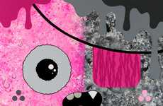 Pink-Obsessed Art - The Artist 'Buff Monster' Says Pink is Power