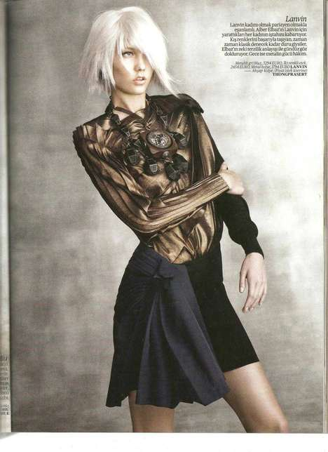 Karlie Kloss in Vogue Turkey September 2010