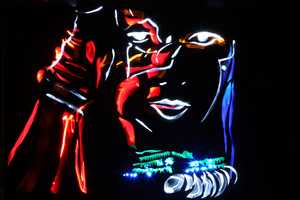 The 'Light Graffiti Stars' Series by Mark Brown and Marc Cameron