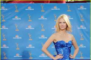 January Jones' Emmy's 2010 Red Carpet Dress was Eye-Popping