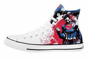 Dc Comics and Converse Team Up to Create these Super Flashy Kicks