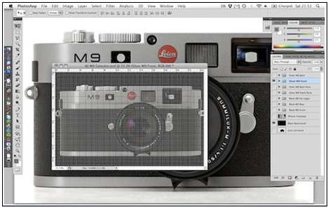 Leica iPhone Sticker