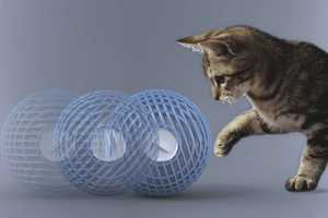 The Wool Ball Hybrid Humidifier can be Used as a Toy for Pets