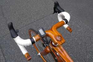 These Mahogany Bikes by Sanomagic Took Three Years to Make