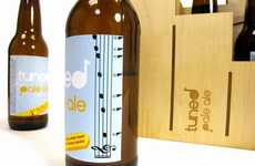 Musical Beer Bottles - Tuned Pale Ale has You Ready to Jam Post Drink