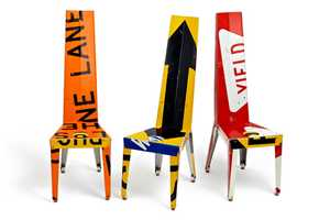 Transit Chairs and Tables by Boris Bally Will Give You Some Direction