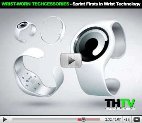 Wrist-Worn Techcessories - Sprint Firsts in Wrist Technology