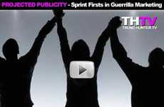Sprint Firsts in Guerrilla Marketing