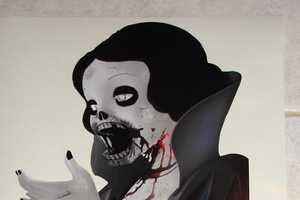 The Zombie Snow White iPad Decal is Truly Frightening