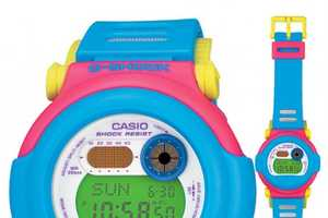 G-Shock's Neon, Slimmed-Down Watches Offer Bright Style