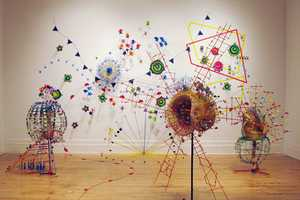 Nathalie Miebach's Sculptures Are A Physical Representation Of Meteorology