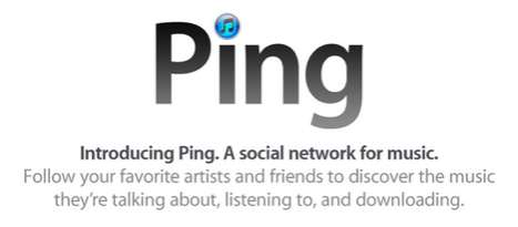 Music-Sharing Social Apps - Apple Introduces the 'Ping' Social Network for Music-Lovers Everywhere