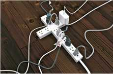 Religious Power Strips - Power/Strip is a Divine Surge Protector