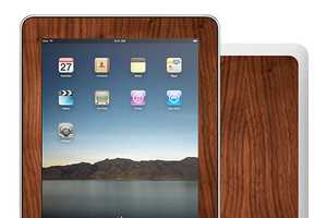 Dress Up Your iPad or iPhone With Wooden Skins From Recover