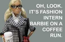 Internship Dolls - Barbie the Intern Works Just Like Everyone Else