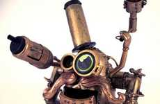 Steampunked Potato Toys - Sarita Maria's Spudnik Puts a Mechanical Spin on Mr. Potato Head