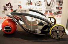 Folding Eco-Trikes
