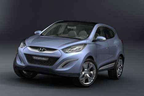 Hyundai Hydrogen Fuel Cell Car