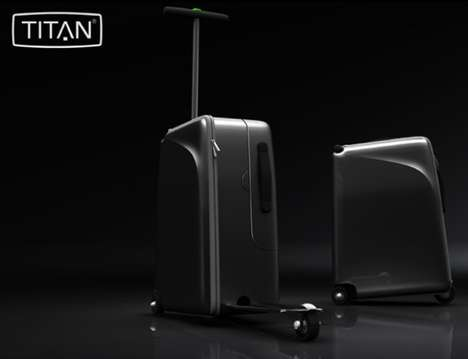 TITAN High-Roller suitcase