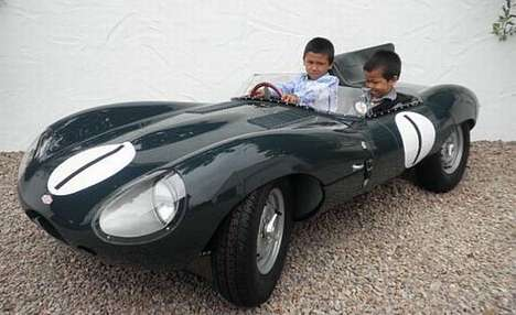 Sports Cars for Kids - Spoil Your Youngster with the 1955 D-Type Jaguar Children's Car