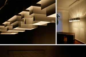 Robert Hoffman Makes Adjustable Geometric Lighting Pieces