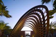 Art Gallery Homes - The Kona Residence by Belzberg Architects has a 3D Opening Piece
