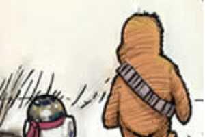 James Hance Cartoons Portray 'Wookie the Chew'