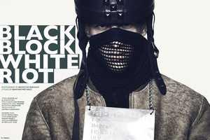 The 'Black Block White Riot' Fiasco Magazine Spread is Violently Stylish